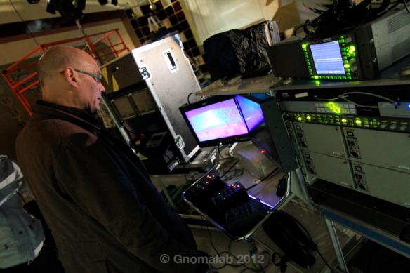 Grabación: El realizador en el control de cámaras