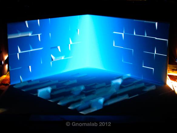 Grabación: secuencia de transición de cubos