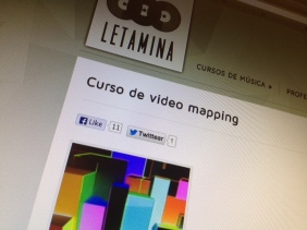 curso video mapping