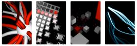Hybridvisual qtz patches