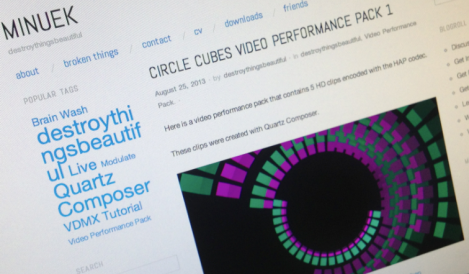 CIRCLE CUBES VIDEO PERFORMANCE PACK 1